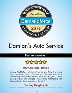 Damian's Auto Service Demandforce 2016 Small